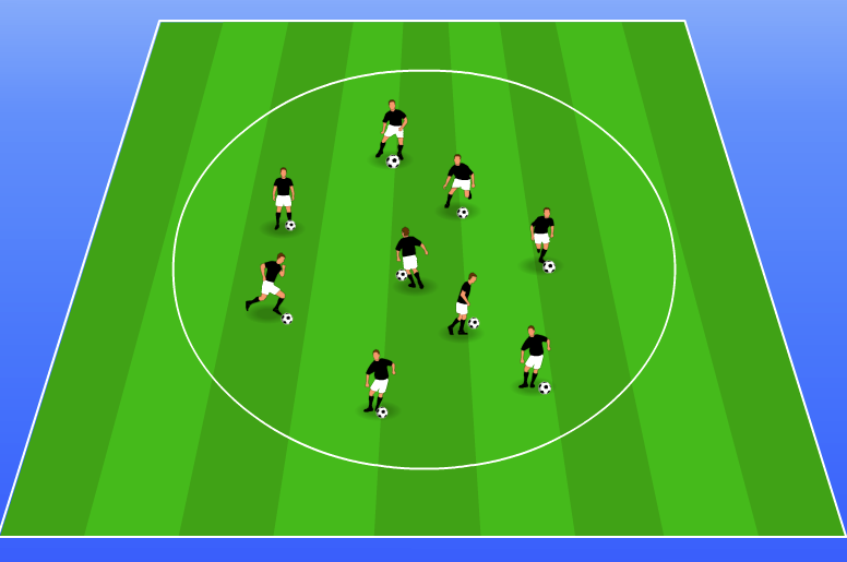 Soccer Drills for Kids: Gladiators