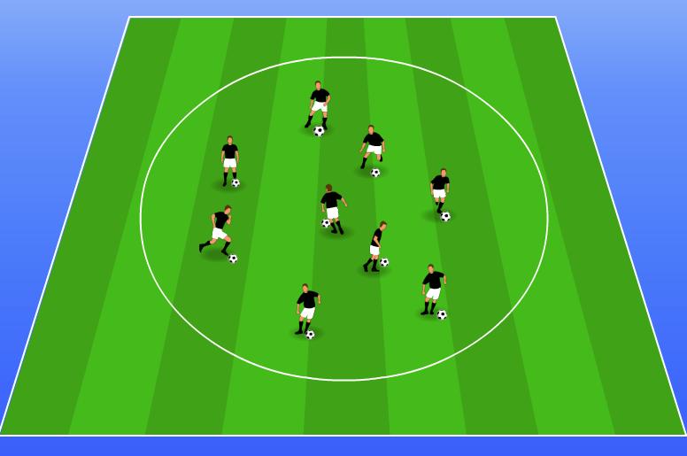 Soccer Drills for Kids: Gladiators