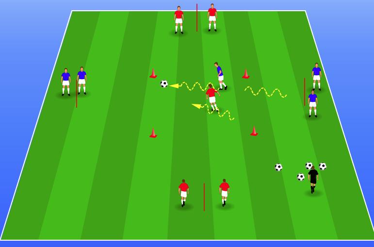 kids soccer drill